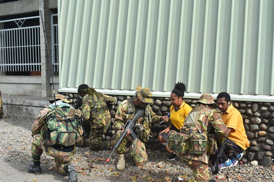 Force de défense de Papouasie Nouvelle-Guinée  / Papua New Guinea Defence Force (PNGDF) 217