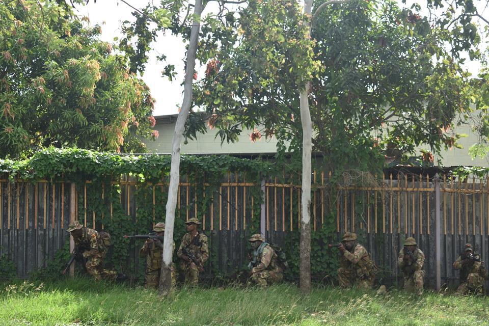 Force de défense de Papouasie Nouvelle-Guinée  / Papua New Guinea Defence Force (PNGDF) 316