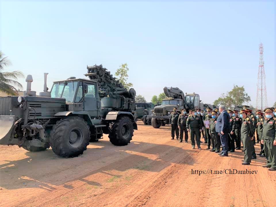 L'Armée populaire lao / forces armées du Laos 3a13