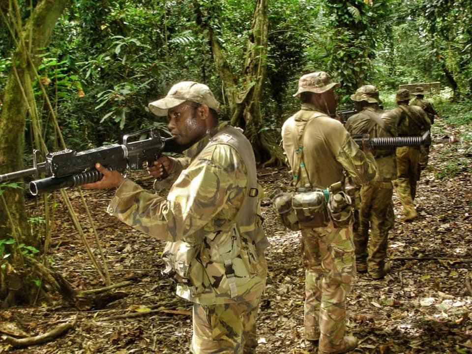 Force de défense de Papouasie Nouvelle-Guinée  / Papua New Guinea Defence Force (PNGDF) 48e19