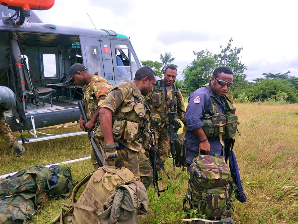 Force de défense de Papouasie Nouvelle-Guinée  / Papua New Guinea Defence Force (PNGDF) 48j21