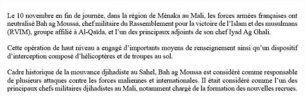 Intervention militaire au Mali - Opération Serval - Page 25 5101