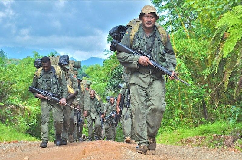 Les Forces militaires de la République des Fidji  /Republic of Fiji Military Forces (RFMF) 539