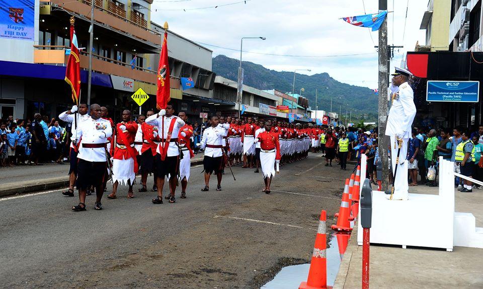Les Forces militaires de la République des Fidji  /Republic of Fiji Military Forces (RFMF) 540