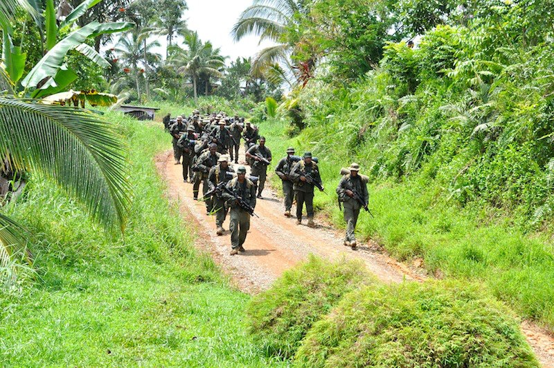Les Forces militaires de la République des Fidji  /Republic of Fiji Military Forces (RFMF) 639