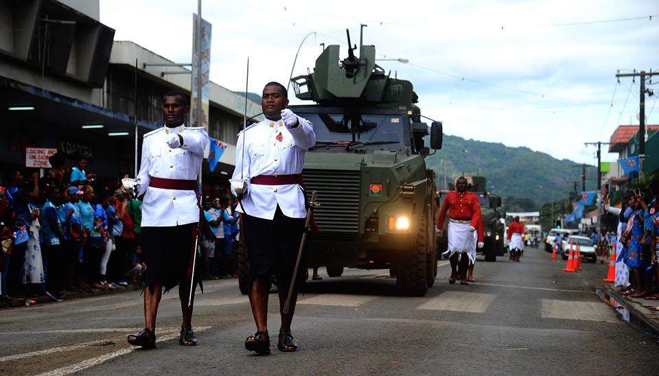 Les Forces militaires de la République des Fidji  /Republic of Fiji Military Forces (RFMF) 641