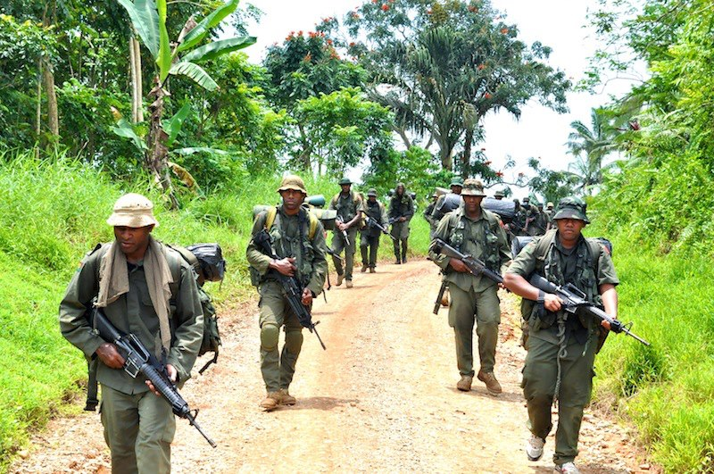 Les Forces militaires de la République des Fidji  /Republic of Fiji Military Forces (RFMF) 739