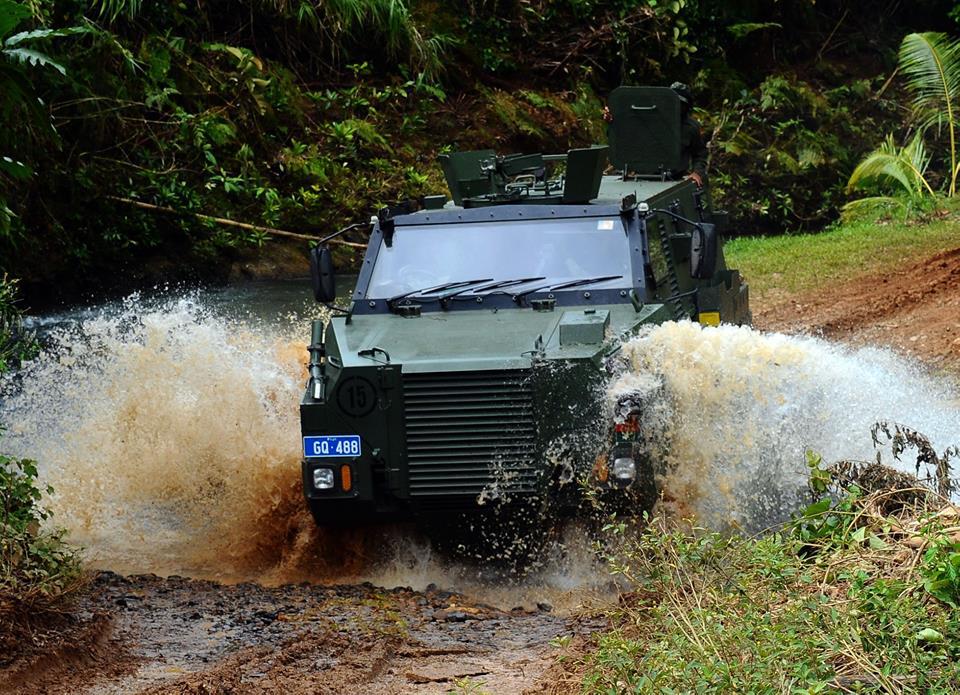 Les Forces militaires de la République des Fidji  /Republic of Fiji Military Forces (RFMF) 757