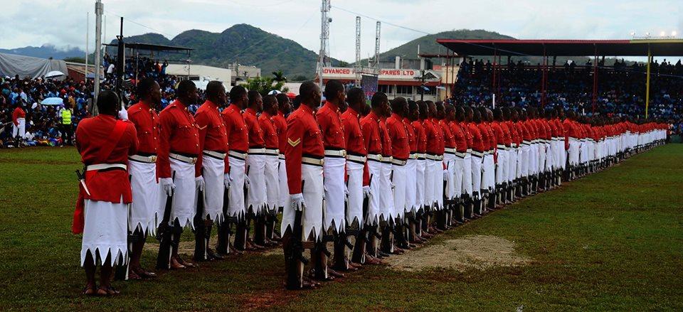 Les Forces militaires de la République des Fidji  /Republic of Fiji Military Forces (RFMF) 834