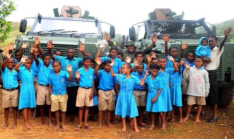 Les Forces militaires de la République des Fidji  /Republic of Fiji Military Forces (RFMF) 849