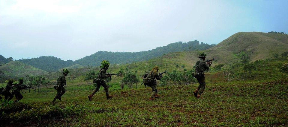 Les Forces militaires de la République des Fidji  /Republic of Fiji Military Forces (RFMF) 9d10