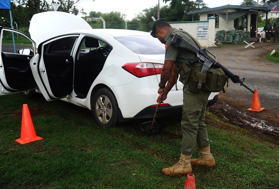 Les Forces militaires de la République des Fidji  /Republic of Fiji Military Forces (RFMF) 9f10