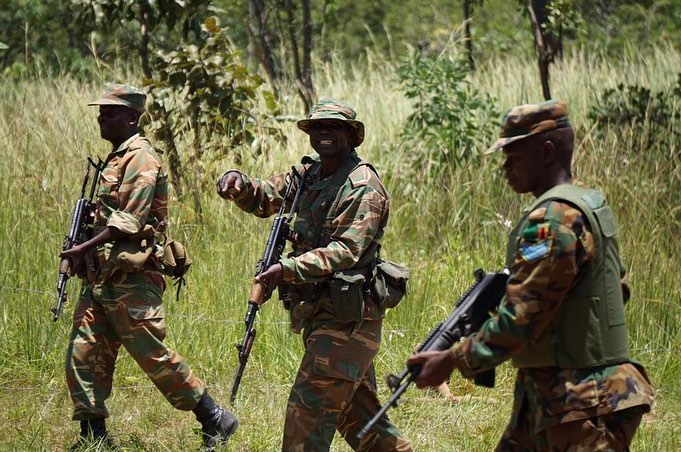 Armée Zambienne / Zambian Defence Forces  _1124