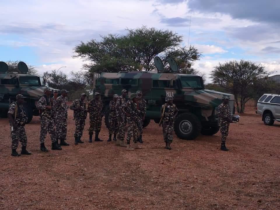 Armée Namibienne / Namibia Defence Force _12b348