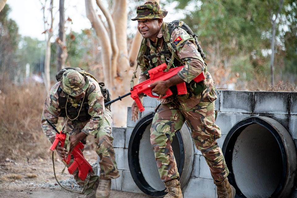 Force de défense de Papouasie Nouvelle-Guinée  / Papua New Guinea Defence Force (PNGDF) _12b775