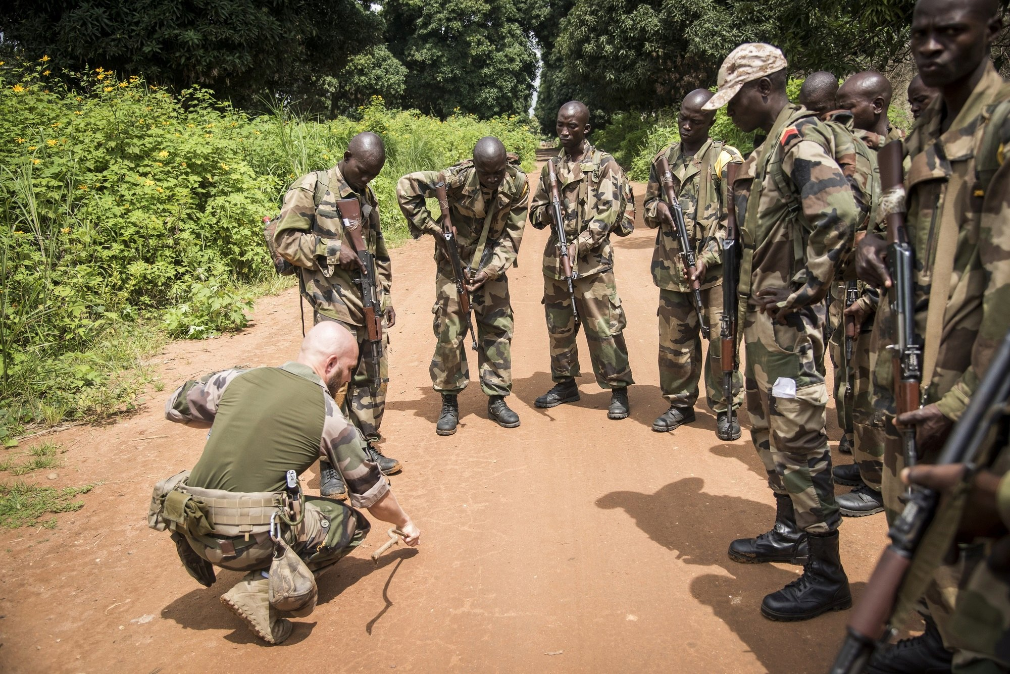 Armées de la République centrafricaine  - Page 9 _12c1134