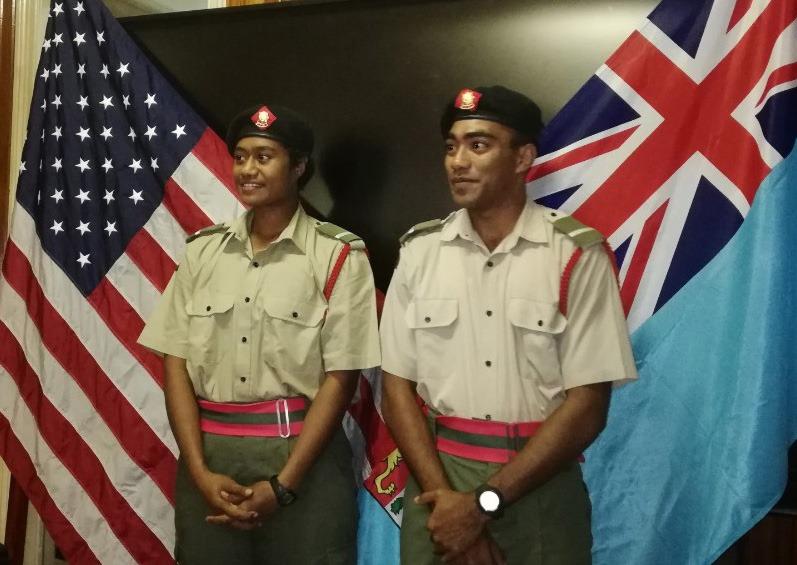 Les Forces militaires de la République des Fidji  /Republic of Fiji Military Forces (RFMF) _12c132