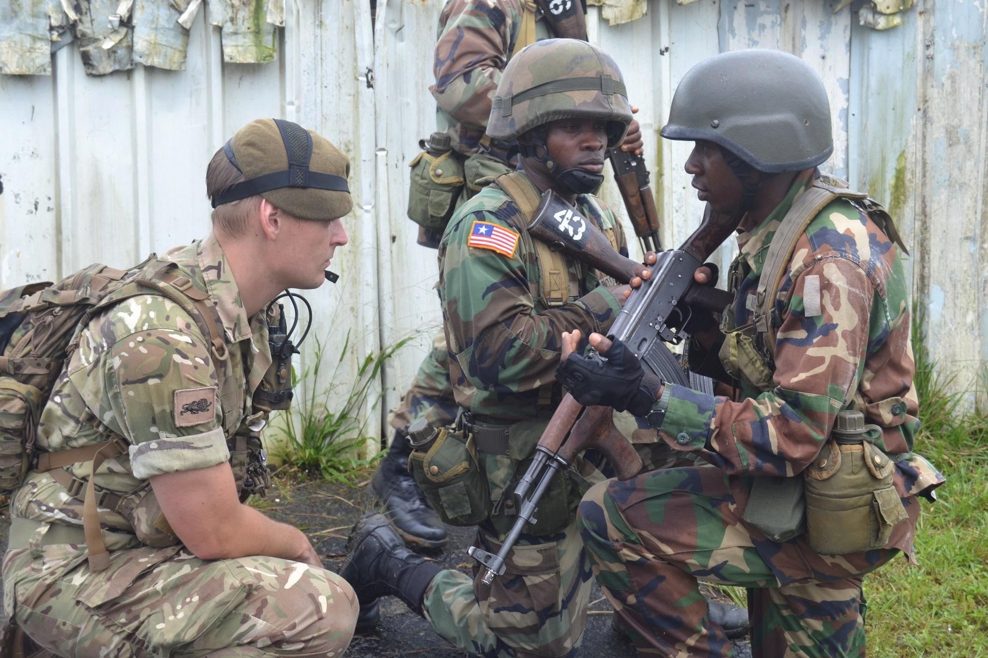Les Forces Armées du Libéria / Armed Forces of Liberia ( AFL ) _12e256