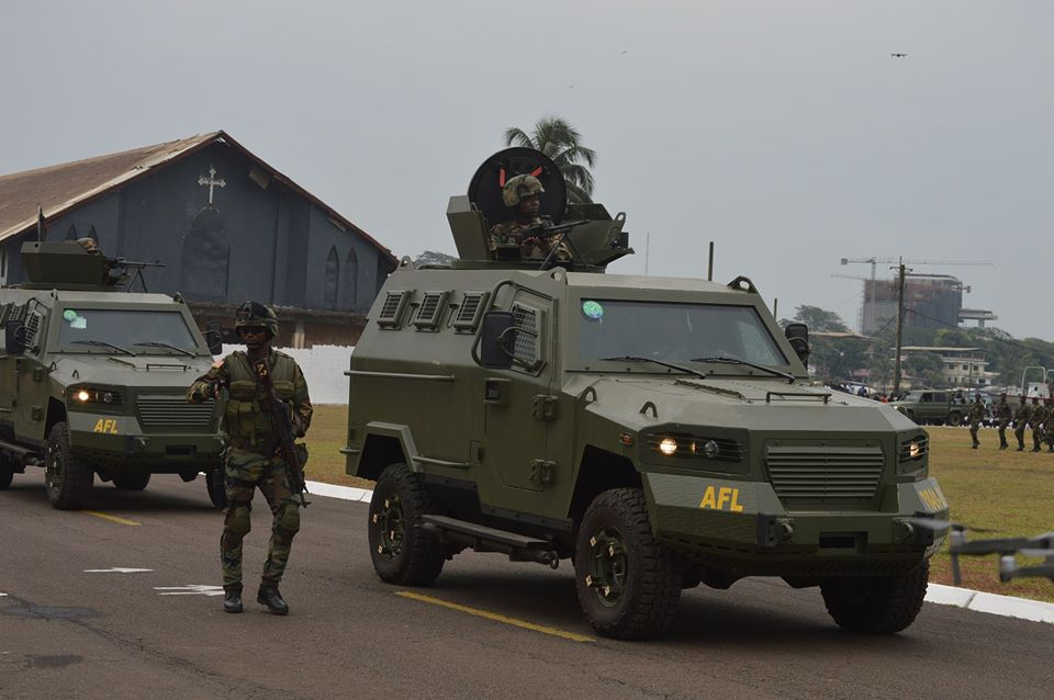Les Forces Armées du Libéria / Armed Forces of Liberia ( AFL ) _12f2210