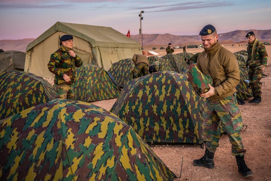 Coopération militaire Maroc-Belgique - Page 2 _12f3d37