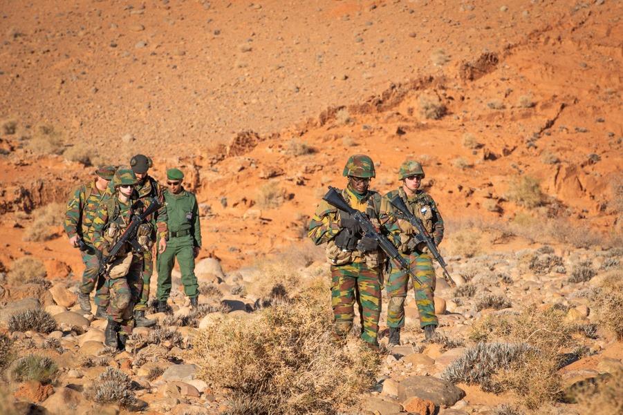 Coopération militaire Maroc-Belgique - Page 2 _12f497