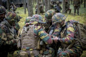 Armée Belge / Defensie van België / Belgian Army  - Page 22 _12f511