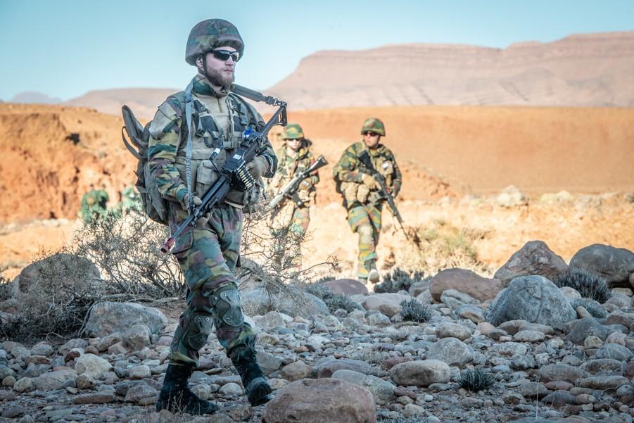 Coopération militaire Maroc-Belgique - Page 2 _12f555