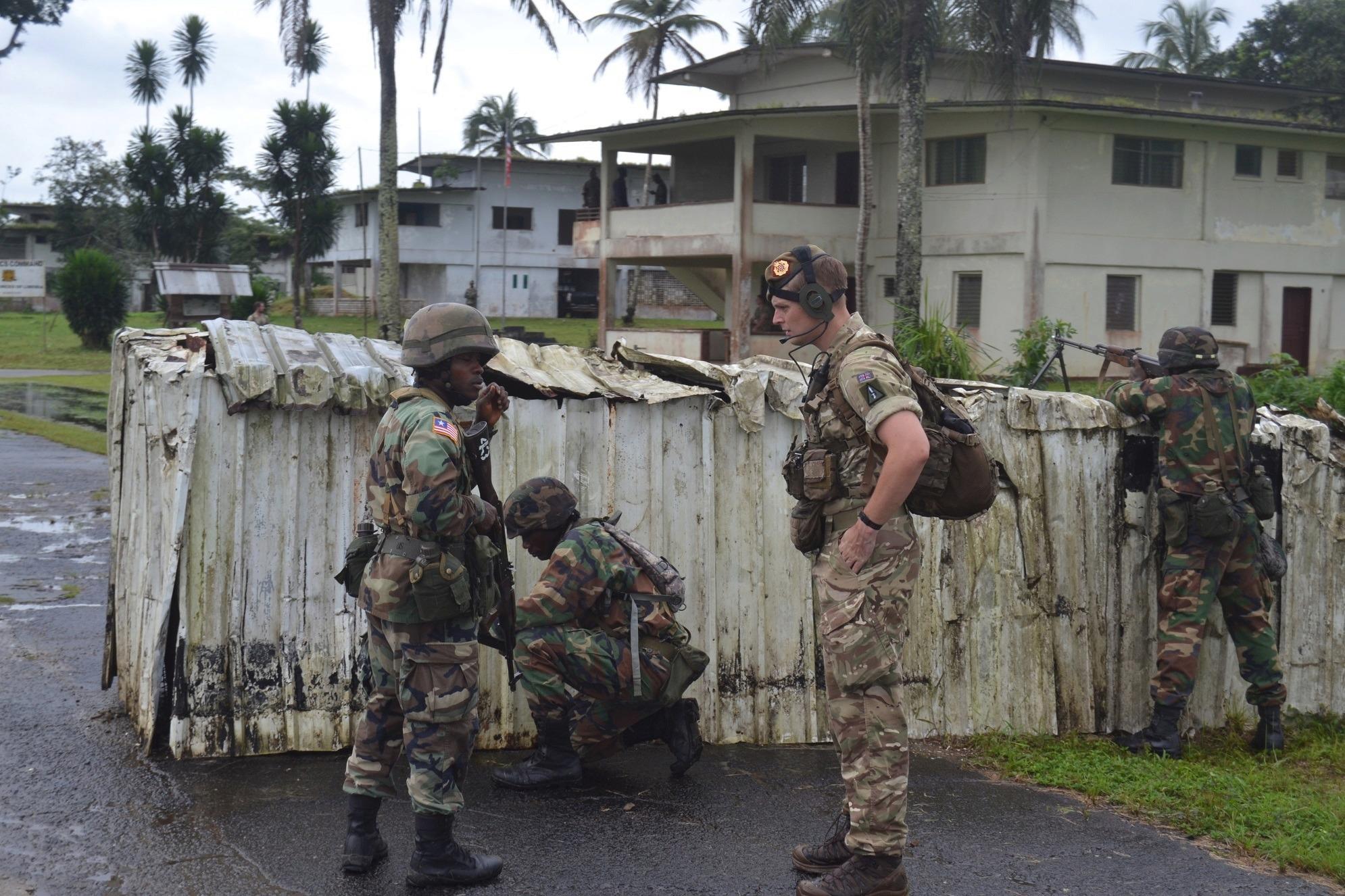 Les Forces Armées du Libéria / Armed Forces of Liberia ( AFL ) _12f58