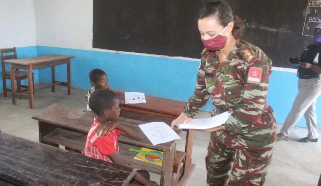 Maintien de la paix dans le monde - Les FAR en République Centrafricaine - RCA (MINUSCA) - Page 17 _12f6156