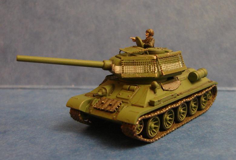 T34-85 [Plastic soldier - 15mm] Dsc00830