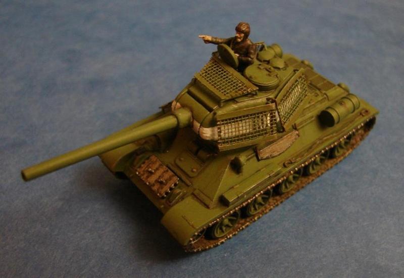 T34-85 [Plastic soldier - 15mm] Dsc00833