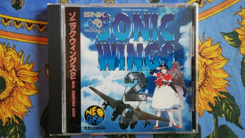 [VDS] Jeux NeoGeo CD, Last Resort, Sonic Wings 2 et ViewPoint Img_2052