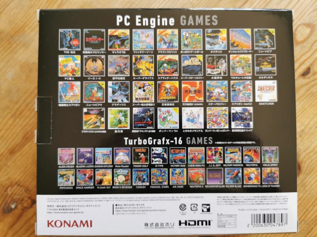 PC Engine MINI...par Konami... - Page 24 Img_2249