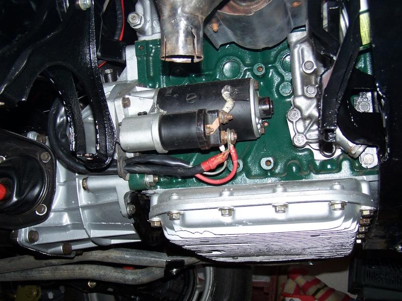 Echappement Simca 1ere serie a la place echappement 1200S 100_0455