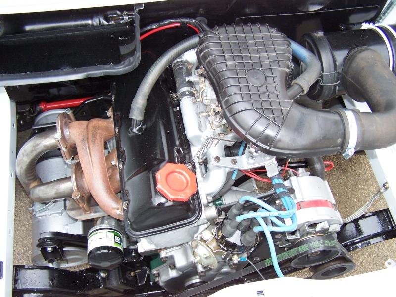 Echappement Simca 1ere serie a la place echappement 1200S 100_0456