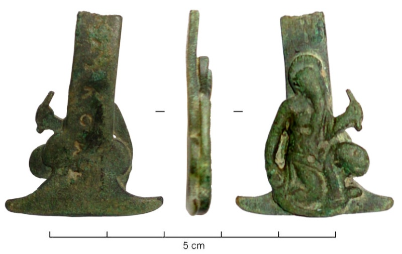 Peut-être saint Jean l'Evangéliste qui est souvent représenté aux pieds de la croix en compagnie de la Vierge Marie généralement  Person10