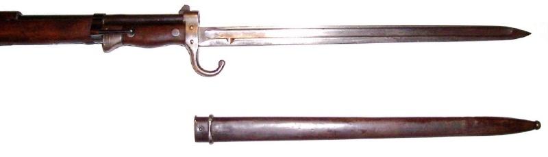 Quelques baïonnettes montées sur leurs armes 1892_e11