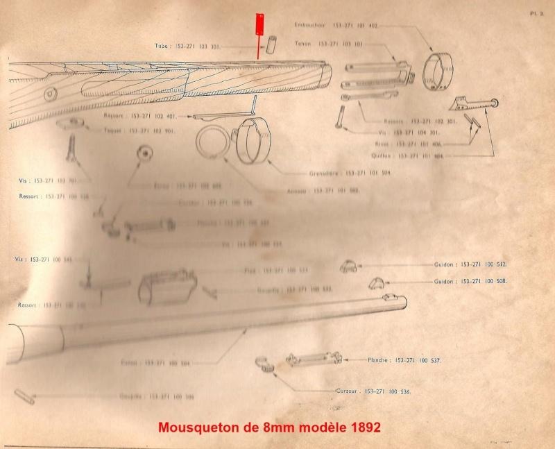 Démontage mousqueton 1892 92_00110