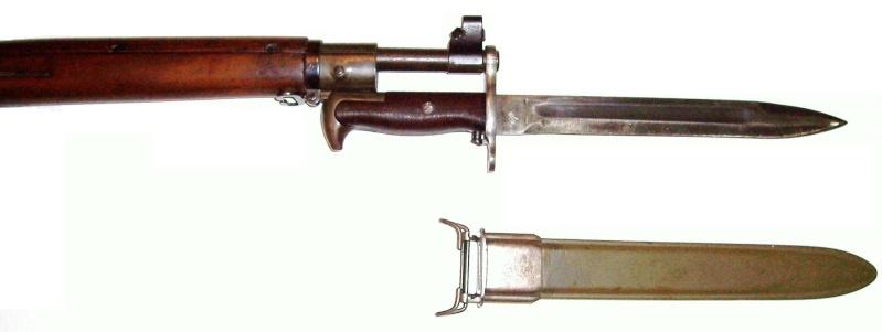 Quelques baïonnettes montées sur leurs armes U_s_1911