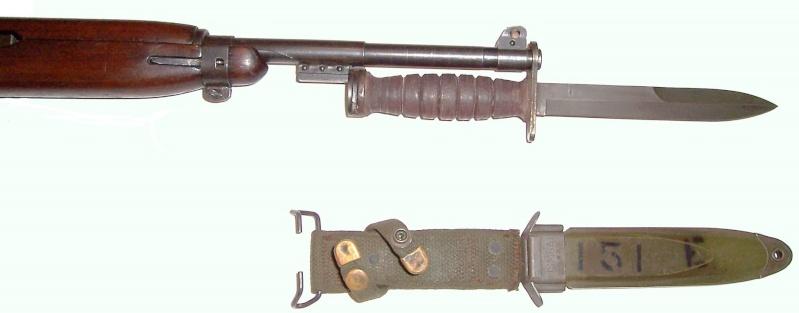 Quelques baïonnettes montées sur leurs armes U_s_m113