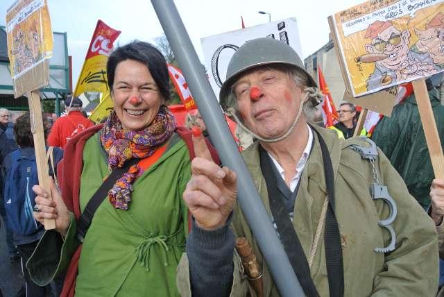 les bonnets rouges a Carhaix Jean-k11