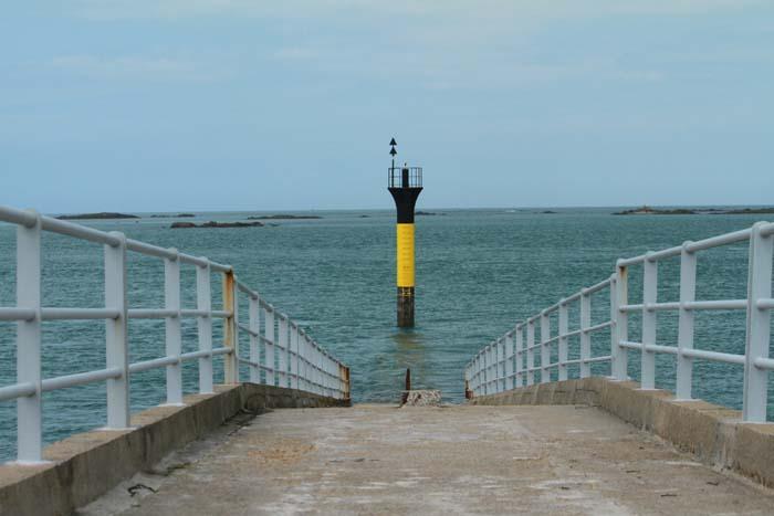 Roscoff, la jetée du débarcadère de l'île de Batz Roscof10