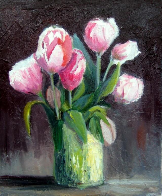 Les tulipes roses cette fois-ci Dscf7817