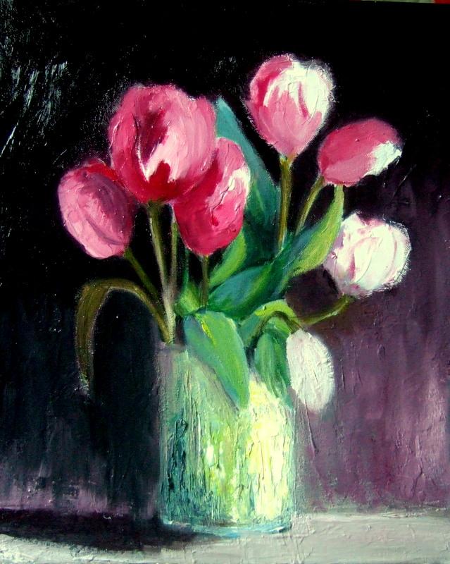 Les tulipes roses cette fois-ci Dscf7819