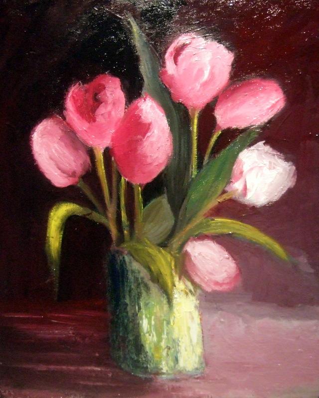 Les tulipes roses cette fois-ci Dscf7823
