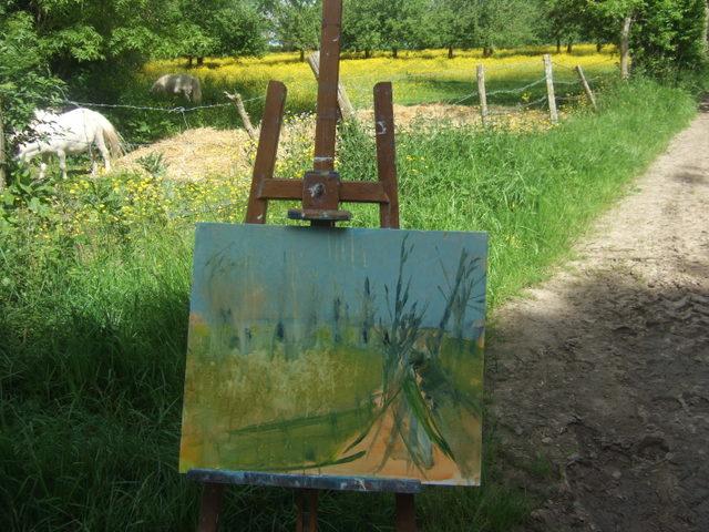 """Peinture """"plein air"""" Dscf8135"""