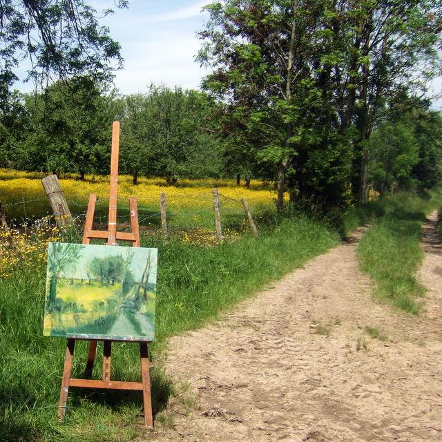 """Peinture """"plein air"""" Dscf8136"""