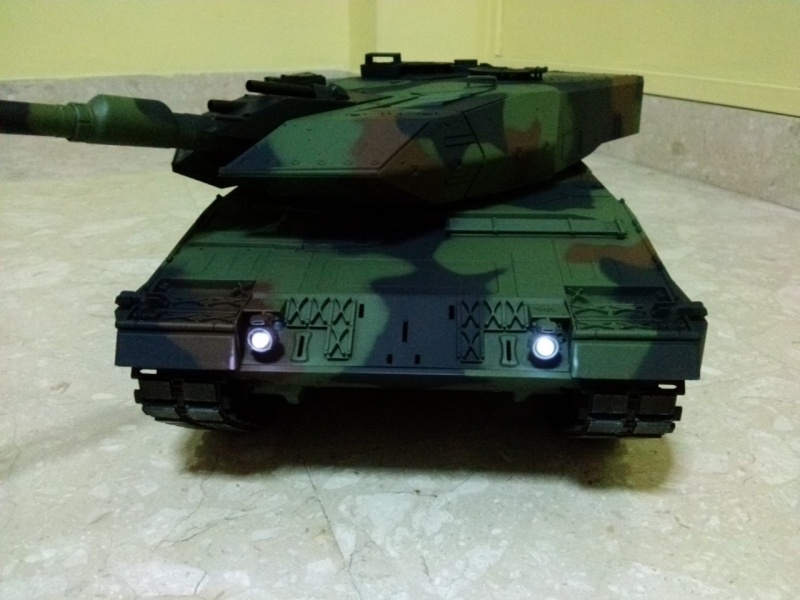 Slow Tank - HL 1/16 German Leopard 2A6 Cam04119