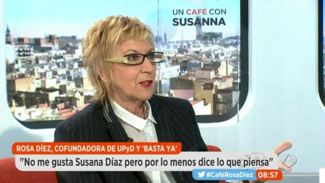 """[Antena 3] Un Café con Susana; Rosa Díez: """"España y la UE no pueden mirar para otro lado"""" 6910"""