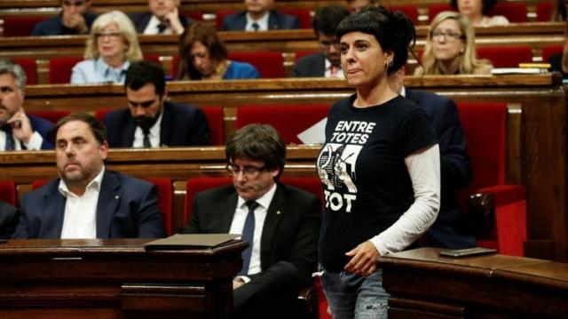 """[La Sexta] La Sexta Noticias: """"Puigdemont se queda solo con Junqueras en la realización de los nuevos presupuestos en Catalunya"""" La-cup10"""
